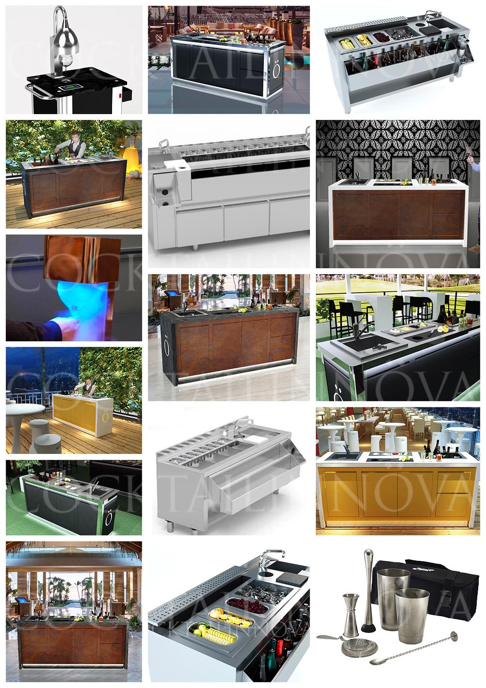 cocktailinnova-estaciones-barras-mesas-preparacion-cocteleria-cocktail-a-medida-personalizados-mobiliario-madrid-españa-fabricantes-fabricacion-instalación-diseño-proyectos-coctelería-lujo-premium-particulares-terrazas-restaurantes-hoteles-bares-iluminación-led-maquinaria-accesorios-utensilios-para-barman-bartenders